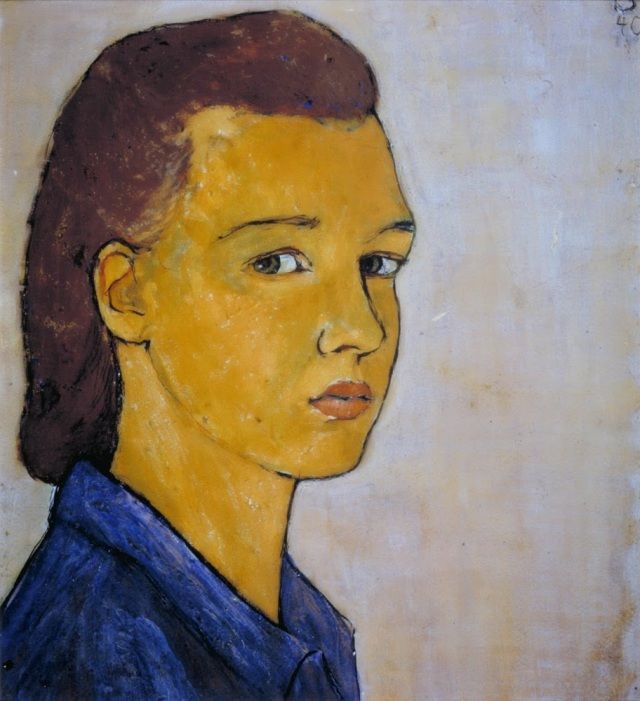 Charlotte Salomon (1917–1943), Auto Portrait. JHM C Charlotte Salomon Foundation